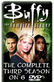 Top portion of Buffy the Vampire Slayer DVD banner ad