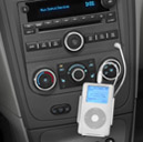 dash with iPod plugged in