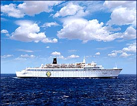 Freewinds cruise ship