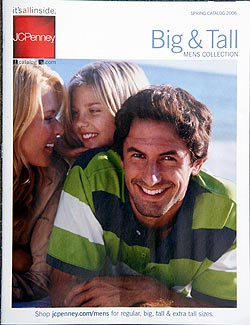 Josh Wald on the cover of JCPenney catalog