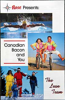 Booklet cover: 'Rose Presents: Canadian Bacon and You -- The Lean Team